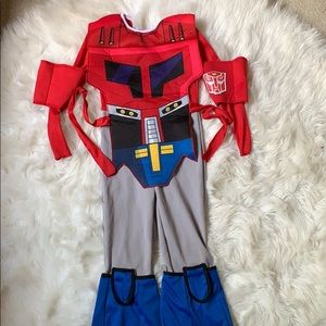 Transformers costume. Age 4-6